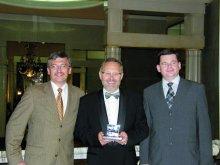 Przedstawiciele Metal Union od lewej: Tomasz Cichobłaziński, Włodzimierz Chwalba, Michał Mehr
