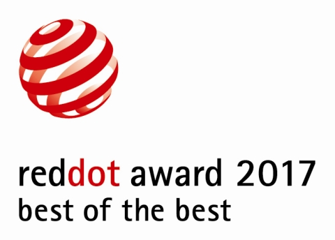 20170422schueco red dot best of the best award 2017