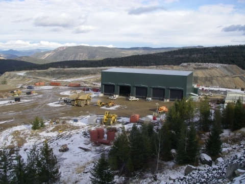 20180222horman 1 Large Mining Equipment Service Building